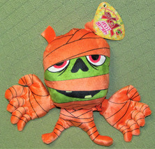 "Sugar Loaf Halloween Mummy Stuffed Animal Orange Plush 12"" With Hang Tag Toy - $9.50"