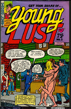 Young Lust 2, Print Mint 7th print 1971  classic Underground Comix - obo - $14.25
