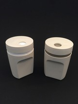 Vintage 80s Tupperware Salt & Pepper Shaker Range Set #1471 image 1