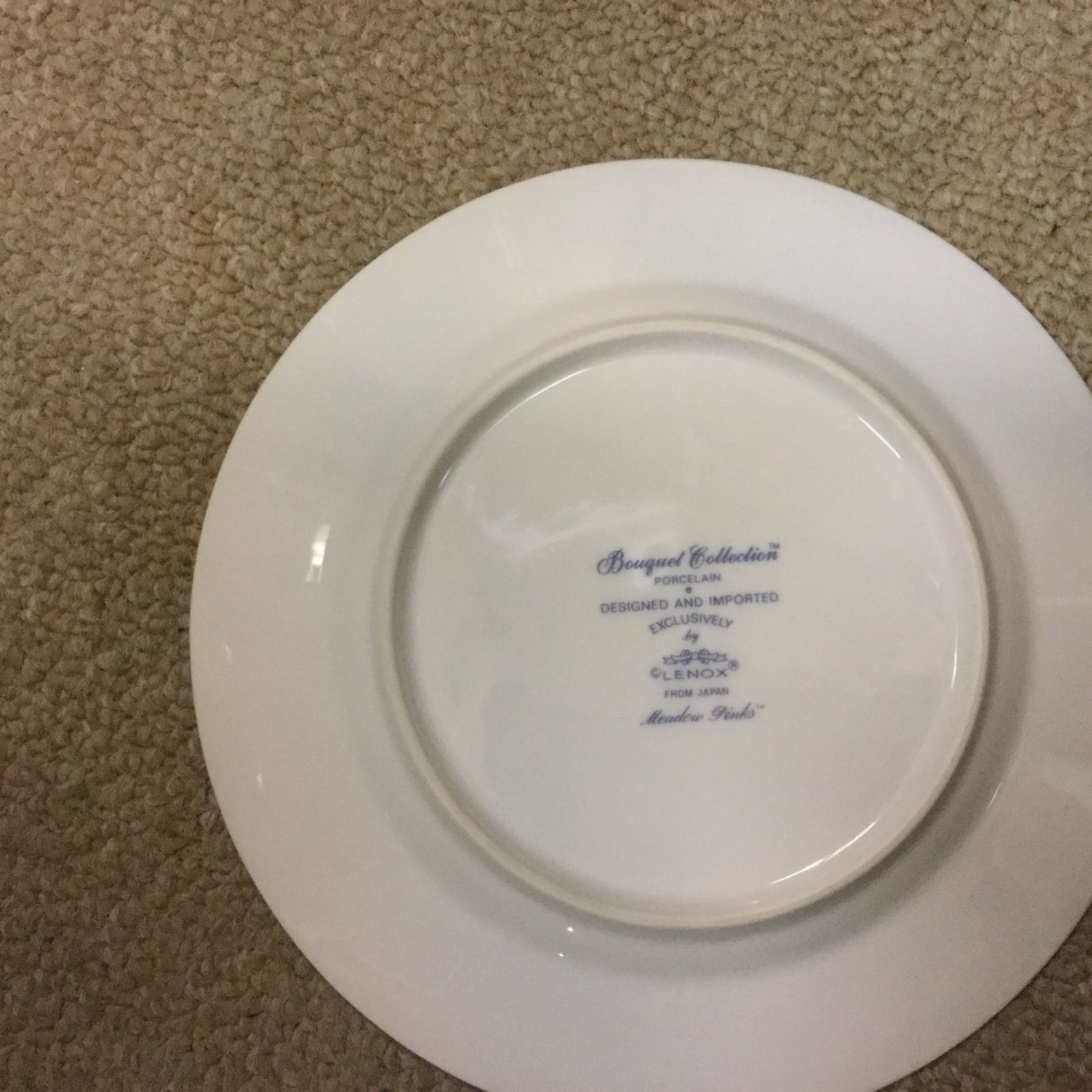 Lenox China Set Bouquet Collection Meadow Pinks From Japan - 16 Place Setting image 3