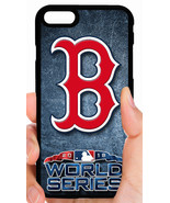RED SOX WORLD SERIES PHONE CASE COVER FOR iPHONE XS MAX X 8 7 6 6 PLUS 5... - $14.97