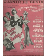 """1948 """" Cuanto Le Gusta """" from movie A Date with... - $12.95"""