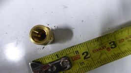 5 Parker X66CA-4-2 Brass Tube Fittings for Flammable Liquid Pack of 5 image 4