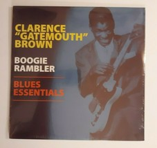"Clarence ""Gatemouth"" Brown Boogie Rambler Blues Essentials New Vinyl Record - $15.83"