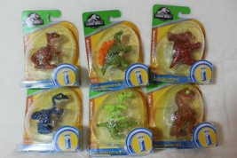 Fisher price Imaginext Jurassic World Dinosaur Egg 2 Compies Lizards New - $12.99