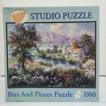 """Studio Puzzle 1000 Piece """"Enchanted Cottage"""" 20""""X27"""" Jigsaw Puzzle 2009 ... - $16.99"""