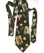 The Saturday Evening Post Tie ~ 100% Silk ~ Made in Canada - $9.16