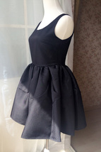 LITTLE BLACK DRESS Bubble Knee Length Sleeveless Princess Flare Party Dress  image 3