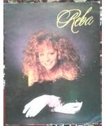 Reba 1992 On Tour Concert Program Country Music Star - $9.89