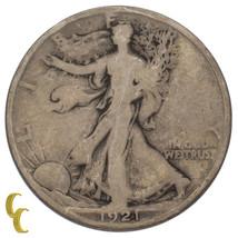 1921-D Silver Walking Liberty Half Dollar 50C (Good, G Condition) - $321.75