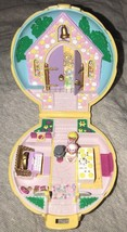Vintage Polly Pocket Nancy's Wedding Day Compact 1989 COMPLETE w/RING Br... - $89.09
