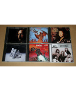 Rock Pop CD Lot Of 6 Clapton Meatloaf Whitesnake Reo Speedwagon Aretha F... - $12.99