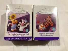 1998 Hallmark Winnie the Pooh Springtime Miniatures Pooh Piglet & Tigger NIB - $6.99