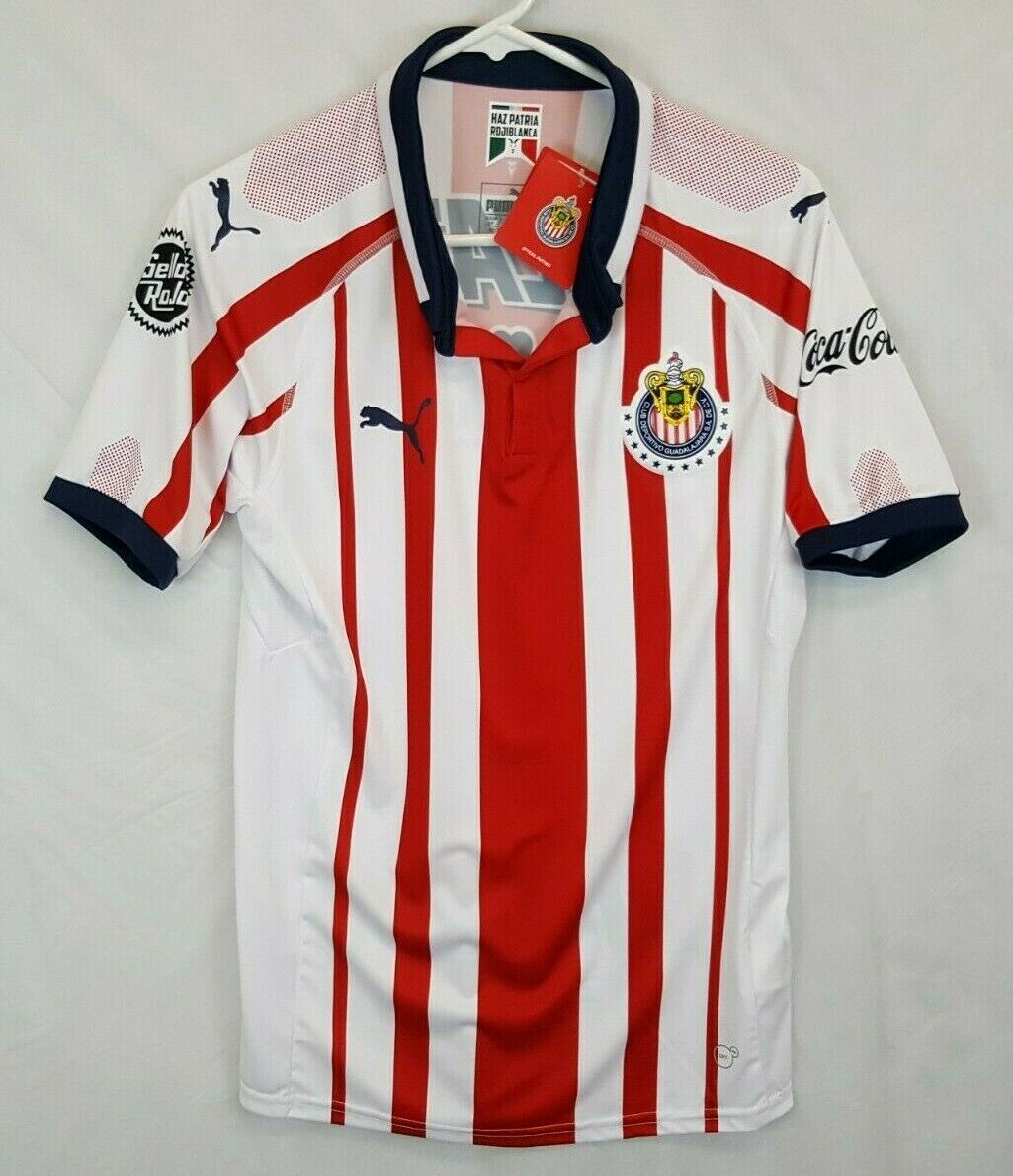 Primary image for New Chivas Stadium Home Soccer Jersey 2018/19 PUMA original Size Small