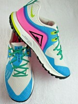 Nike Mens Air Zoom Wildhorse 5 Trail Running Shoes Blue Fury Pink Size 1... - $98.00