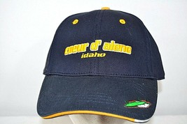Coeur D' Alene Golf Course Idaho Blue Baseball Cap Adjustable Back - $23.99