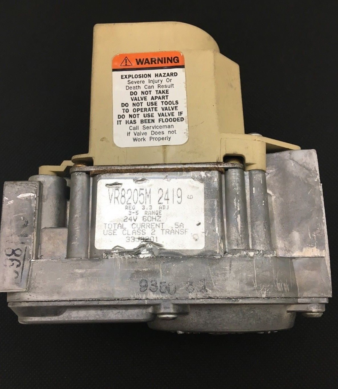 Primary image for Honeywell Furnace Gas Valve VR8205M 2419  used  + FREE Expedited Ship. & Returns