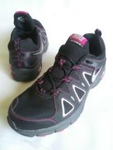 NIKE ALVORD 10 Trail Running Sneaker Shoes Black-Fuchsia Womens Size 11 EUC - $46.48