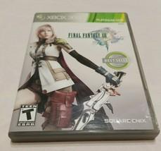 Final Fantasy XIII (Microsoft Xbox 360, 2010) 3 disks Tested - $15.84