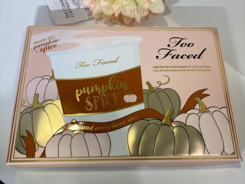 Too Faced Pumpkin Spice & Everything Nice Gift Set NIB Sex Fast FREE SHIPPING - $59.35