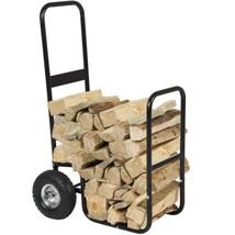Firewood Cart Log Carrier Fireplace Wood Mover ... - $66.65