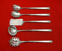 Horizon by Easterling Sterling Silver Hostess Set 5pc HHWS  Custom Made - $359.00