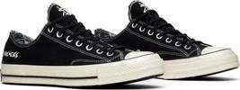 Converse X Suicidal Tendencies Chuck 70 OX LT Black/Egret 162881C Variou... - $76.13