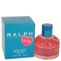 Ralph Lauren Love By Ralph Lauren For Women 3.4 oz EDT Spray (2016) - $84.57