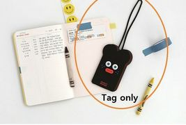 Brunch Brother Suitcase Luggage Tag Poped Eyes Baggage Travel Bag (Burnt Toast) image 4