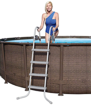 """Bestway Power Steel Deluxe Series 20' x 48"""" Above Ground Pool - Ready to Ship image 6"""
