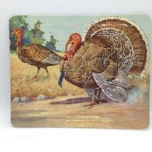 PLATT & MUNK Co Vintage Tom TURKEY GOBBLER Tray PUZZLE Wild Game Birds - $13.58