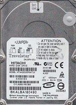 """HTA422020F9ATJ0, DK23FA-20J Hitachi 20GB IDE 40pin 2.5"""" 9.5mm Hard Drive"""