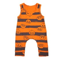 2017 Fashion Baby Boy Striped Rompers Halloween Toddler Baby Boy Girl Ro... - $11.99