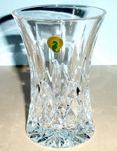 """Waterford Lismore 6"""" Flared Vase Diamond Wedge Cuts #40021470 New In Box - $176.90"""