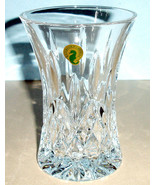 "Waterford Lismore 6"" Flared Vase Diamond Wedge Cuts #40021470 New In Box - $176.90"