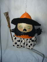 Bethany Lowe Startled Stella Witch Ornament by Robin Seeber Halloween image 2