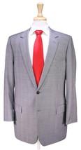 * DIOR * Homme Recent Light Gray Plaid 2-Btn Super 120's Wool Suit 42R - $315.00