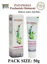Patanjali Ayurvedic Herbal Peedantak Ointment 50g (1.8oz) Relief Aches Pain - $5.67+