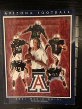 2001 Arizona Wildcats Football John Mackovic media guide  - $6.99