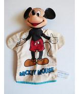 "VTG 1960's Walt Disney Mickey Mouse Hand Puppet Vinyl Head 11"" Korea - $31.68"