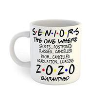 Class of 2020 Quarantined Graduation Coffee Mug - $13.12