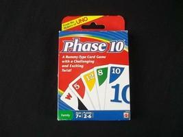 Phase 10 Card game Mattel 2010 Sealed Cards - $9.85