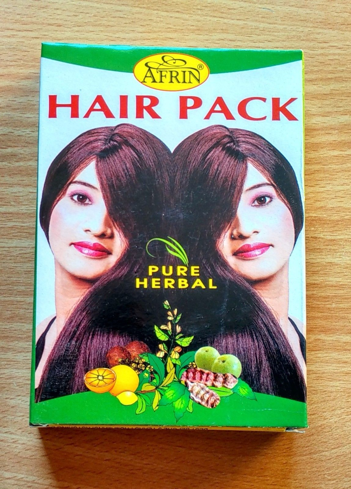 HAIR PACK PURE Herbal BY AFRIN ALL IN 1 Gift of Ayurveda - Healthy food for Hair