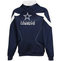 Dallas Cowboys Men's Momentum Sideline Kickoff Hooded Sweatshirt Size M ... - $89.99