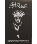 """STOLAS (the band) 5"""" x 3"""" Sticker, New - $3.95"""