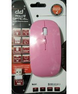 Wireless Mouse, 3.0G Portable Optical Silent Ultra Thin Wireless Compute... - $10.39
