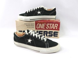 Vintage 70s New Converse One Star Mens Size 10 Suede Low Sneakers Green ... - $987.97