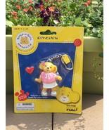 Build a Bear Key Chain kids backpack beach bag accessory easter basket f... - $5.47