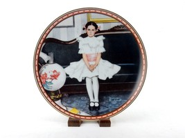 """1986 Collector Plate, Norman Rockwell's """"Sitting Pretty?"""", Knowles, #PLT12 - $12.69"""