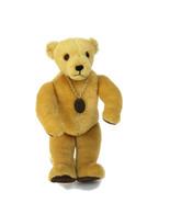 Vintage 1970s Little Folk Blonde Teddy Bear Tiverton Devon Made In Engla... - $32.73
